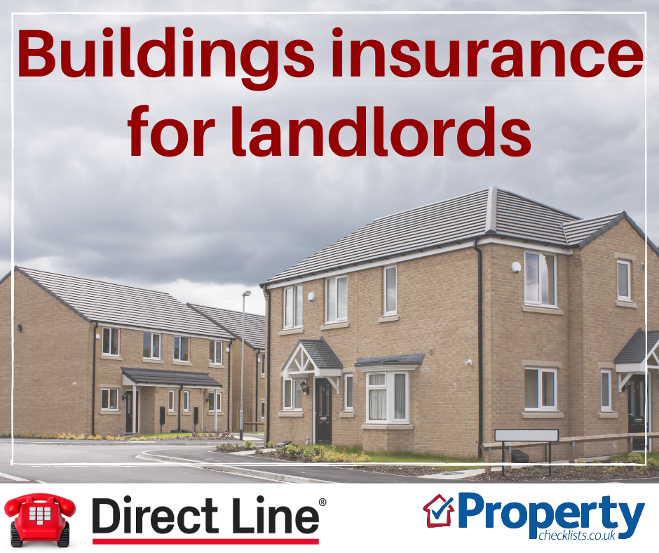 Buildings insurance checklist for landlords