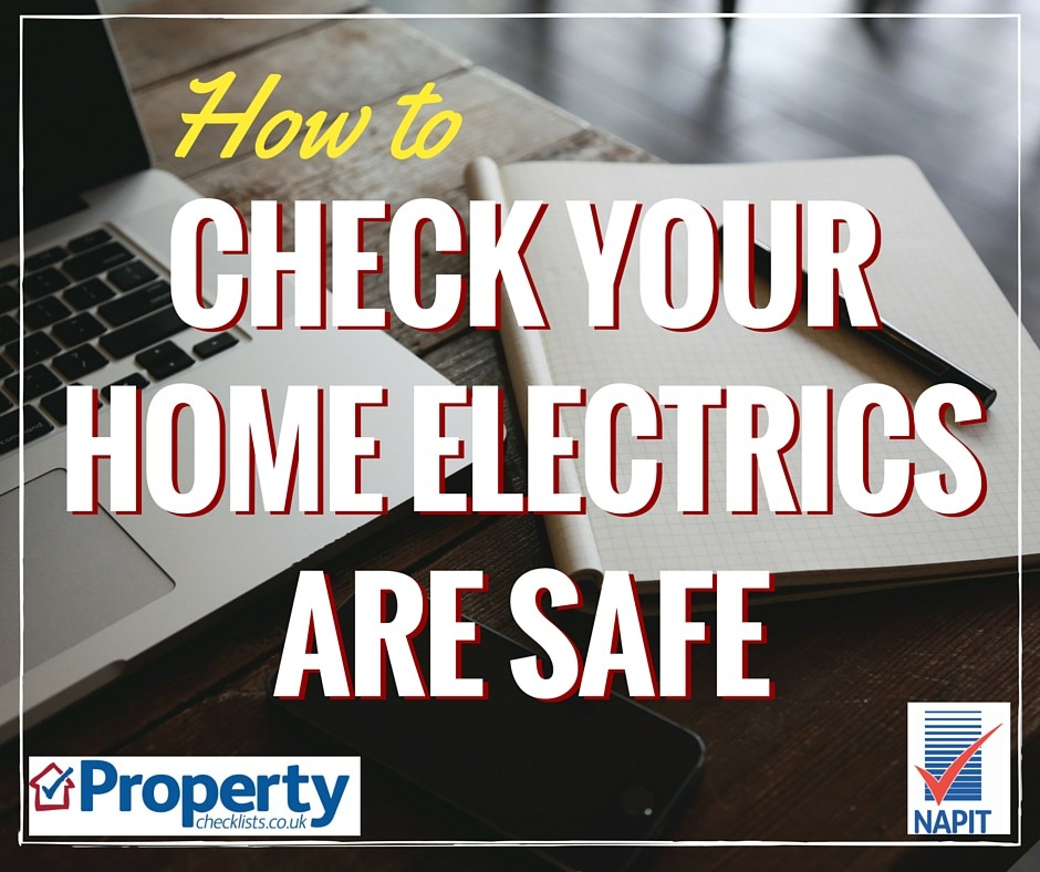 How to check your home electrics are safe checklist