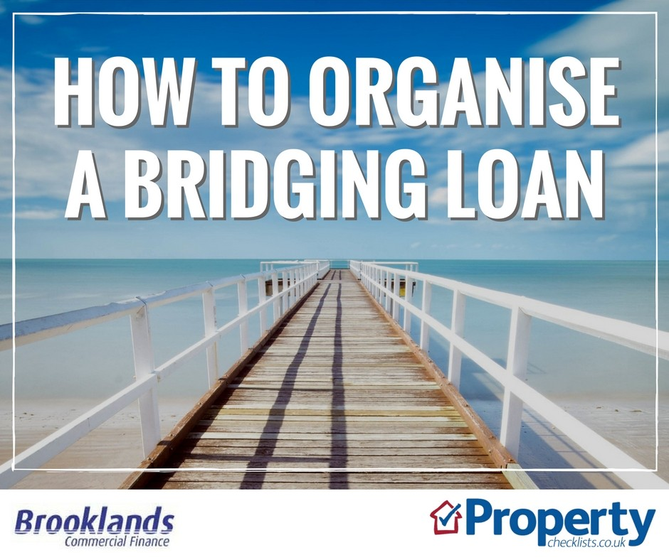 How to organise a bridging loan checklist