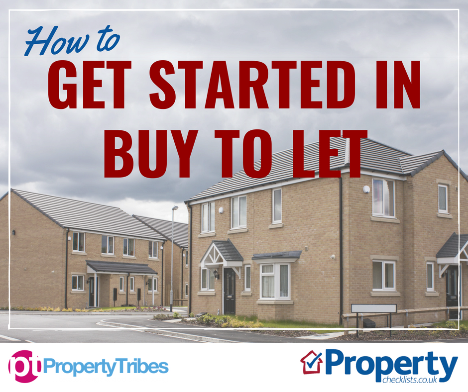 How to get started in buy to let