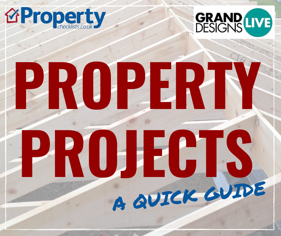 Quick guide carrying out property projects checklist
